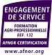 Logo Certification Qualité Afnor